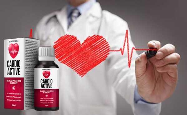 CardioActive gocce per normalizzare la pressione sanguigna