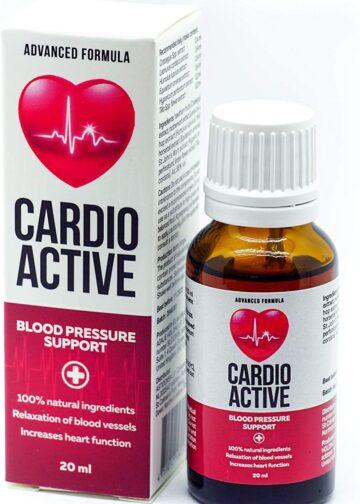 Aspetto delle gocce CardioActive
